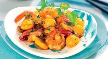Curry-de-crevettes-aux-mirabelles